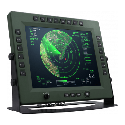 SKY15-P20 Military Display with 20 Programmable Function Keys