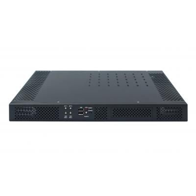 1U Core i7 Rackmount Fanless Server